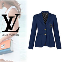Louis Vuitton Monogram Blended Fabrics Jackets