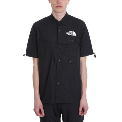 THE NORTH FACE Shirts Nylon Short Sleeves Shirts 2