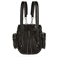 Alexander Wang Unisex Lambskin A4 2WAY Elegant Style Backpacks
