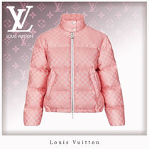 Louis Vuitton Short Other Check Patterns Casual Style Jackets