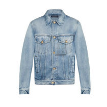 Louis Vuitton Denim Street Style Plain Denim Jackets Jackets
