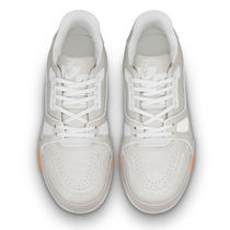 Louis Vuitton Unisex Blended Fabrics Street Style Plain Leather Sneakers