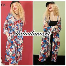 ELF SACK Flower Patterns Tropical Patterns Casual Style Street Style