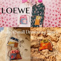LOEWE Casual Style Collaboration Shoulder Bags