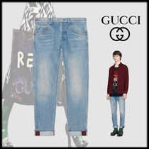 GUCCI Tapered Pants Cotton Jeans & Denim