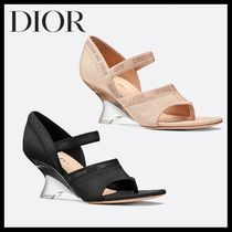 Christian Dior Casual Style Heeled Sandals