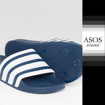 ASOS Stripes Blended Fabrics Shower Shoes Shower Sandals