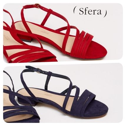 Casual Style Plain Footbed Sandals Flat Sandals