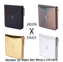 JOSEPH&STACEY Plain Folding Wallets