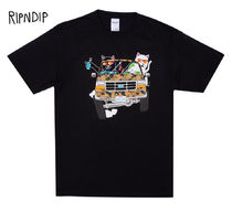 RIPNDIP Street Style Short Sleeves T-Shirts