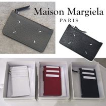 Maison Martin Margiela Calfskin Plain Card Holders