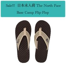 THE NORTH FACE Street Style Shower Shoes Khaki Shower Sandals