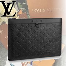 Louis Vuitton Monogram 2WAY Leather Clutches