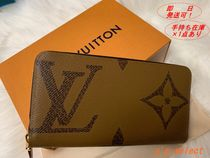 Louis Vuitton MONOGRAM Monogram Unisex Canvas Long Wallets
