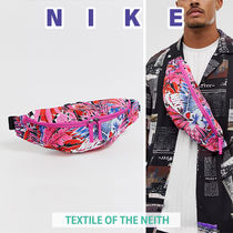 Nike Flower Patterns Street Style Messenger & Shoulder Bags