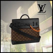 Louis Vuitton Monogram Canvas Blended Fabrics 2WAY Totes