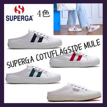 SUPERGA Casual Style Unisex Collaboration Low-Top Sneakers