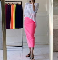 Casual Style Long Maxi Skirts