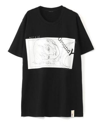 Yohji Yamamoto More T-Shirts Unisex Cotton Short Sleeves T-Shirts 2
