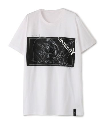 Yohji Yamamoto More T-Shirts Unisex Cotton Short Sleeves T-Shirts 5