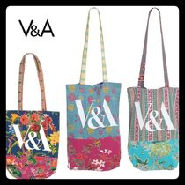 Victoria&Albert Flower Patterns Casual Style Totes