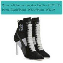 PUMA FENTY Lace-up Casual Style Street Style Collaboration Leather