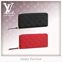 Louis Vuitton MONOGRAM EMPREINTE Leather Long Wallets