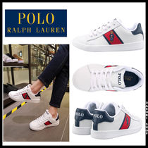 POLO RALPH LAUREN Street Style Leather Low-Top Sneakers