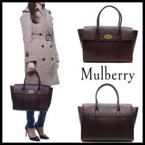 Mulberry Leather Elegant Style Totes
