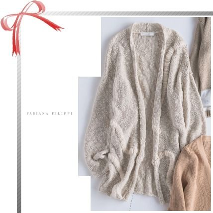 Casual Style Long Sleeves Plain Cotton Cardigans