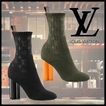 Louis Vuitton Monogram Ankle & Booties Boots