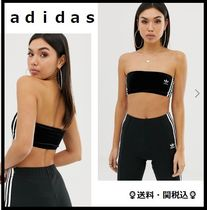 adidas Casual Style Street Style Plain Tops