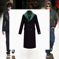 DIOR HOMME Wool Long Chester Coats