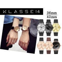 KLASSE14 Leather Quartz Watches Analog Watches