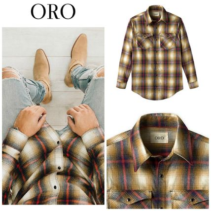 ORO LOS ANGELES Shirts Button-down Long Sleeves Shirts