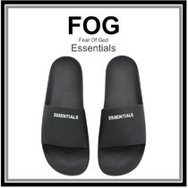 FEAR OF GOD Unisex Street Style Collaboration Plain Sandals