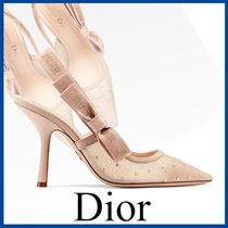 Christian Dior Leather Elegant Style Pumps & Mules