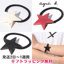 Agnes b Star Casual Style Hair Accessories