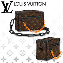 Louis Vuitton Monogram Chain Leather Wallets & Small Goods