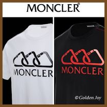 MONCLER Crew Neck Pullovers Unisex Blended Fabrics Cotton