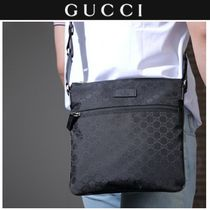 GUCCI Nylon Plain Messenger & Shoulder Bags