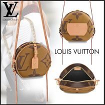 Louis Vuitton MONOGRAM Monogram Canvas Oversized Elegant Style Shoulder Bags