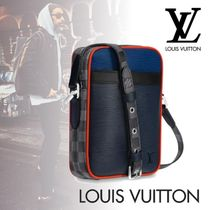 Louis Vuitton EPI Blended Fabrics Street Style 2WAY Plain Leather