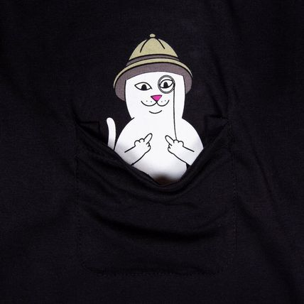 RIPNDIP More T-Shirts Street Style Short Sleeves T-Shirts 3