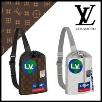 Louis Vuitton Monogram Leather Messenger & Shoulder Bags