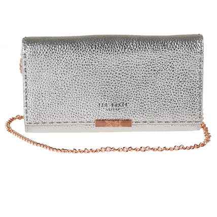 Leather Chain Wallet Long Wallets