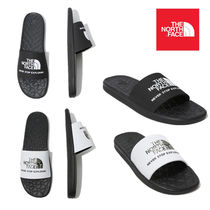 THE NORTH FACE Unisex Plain Shower Shoes PVC Clothing Flipflop