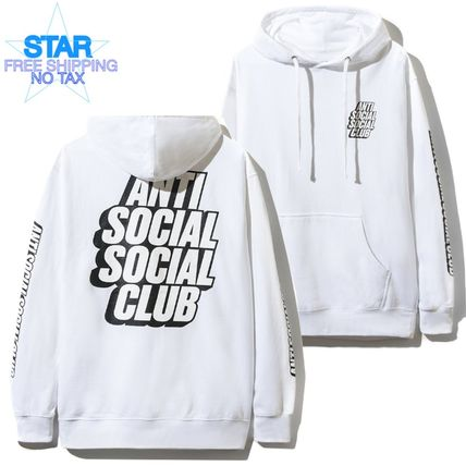 Pullovers Long Sleeves Plain Cotton Hoodies