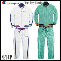 CHAMPION Unisex Street Style Top-bottom sets