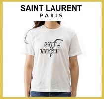 Saint Laurent Short Sleeves T-Shirts